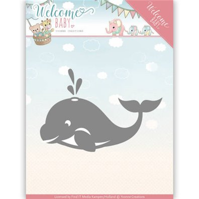 Yvonne Creations Die - Little Orca