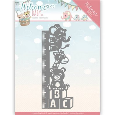 Yvonne Creations Die - Growth Chart
