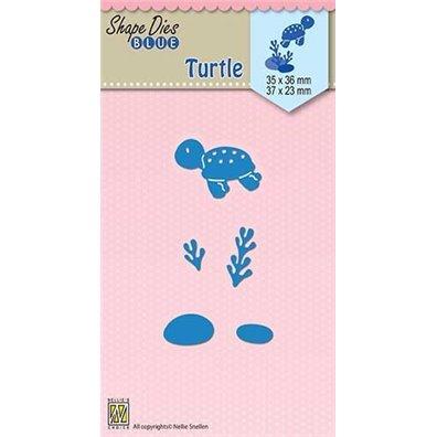 Nellie Snellen Shape Dies - Turtle