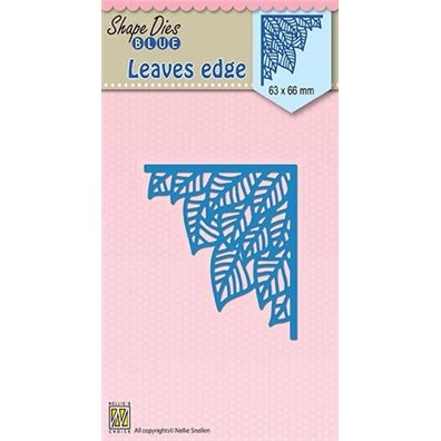 Nellie Snellen Shape Dies - Leaves edge