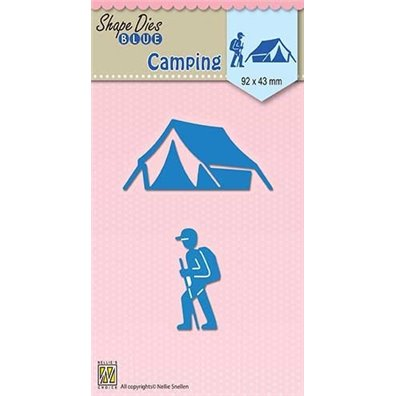 Nellie Snellen Shape Dies - Camping