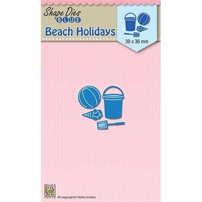 Nellie Snellen Shape Dies - Beach Holidays