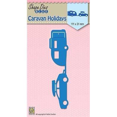 Nelllie Snellen Shape Dies - Caravan Holidays