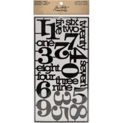 Tim Holtz Alpha Parts - Numeric