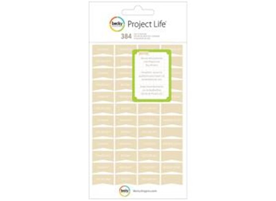 PL - Stickers - Tan - Day - 8 Sheets