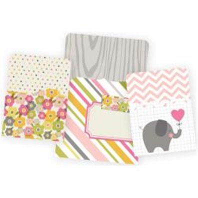 Baby Girl Snap Pocket - Simple Stories