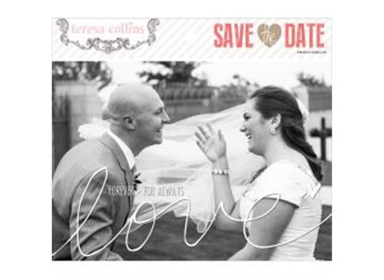 teresa Collins Save the Date Photo Overlays