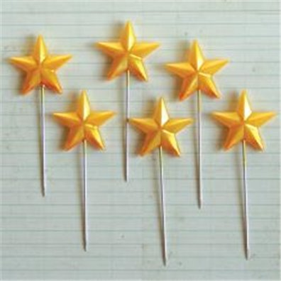 Maya Road Super Star Pins - Gold - 14 pc.