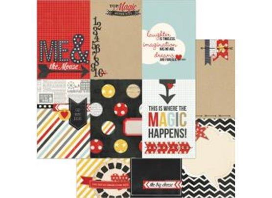 Simple Stories Say Cheese Mønsterpapir - Vertical Journaling Ele