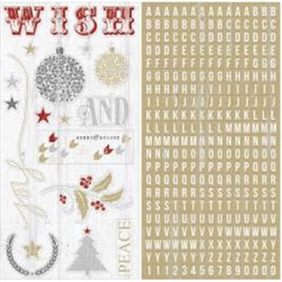 Teresa Collins Tinsel & Company - Chipboard Elements