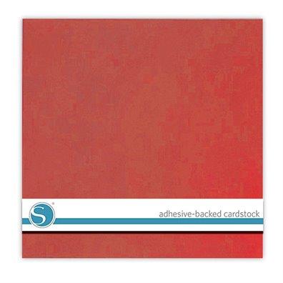 Silhouette Adhesive Cardstock - Rose