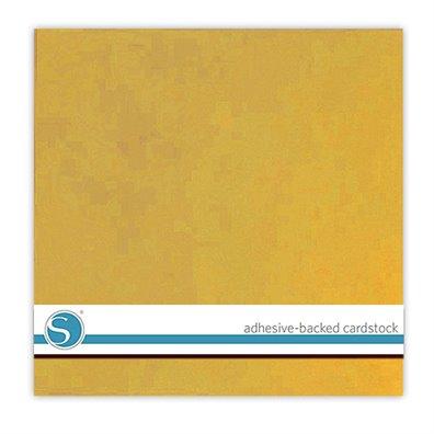 Silhouette Adhesive Cardstock - Yellow