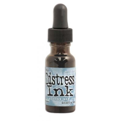 Distress Ink Refill - Stormy Sky