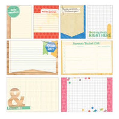 Elle's Studio Saltwater Large & Medium Journaling Tags