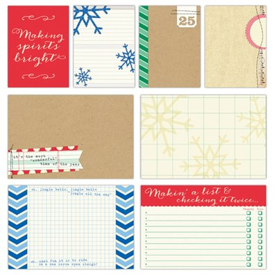 Elles Studio Noel - Lare & Medium Journaling Tags