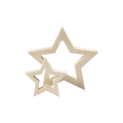 Træ stjerner