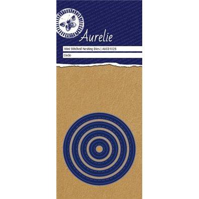 Aurelie Dies Mini Stitched Nesting Circle