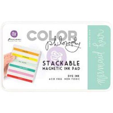 Prima Marketing Color Philosophy Dye Ink Pad - Mermaid Hair