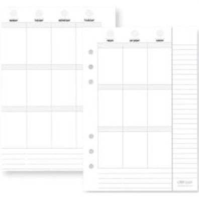 Simple Stories Carpe Diem Planner - Vertical Weekly Inserts