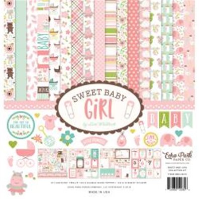 Echo Park Sweet Baby Girl Collection Kit