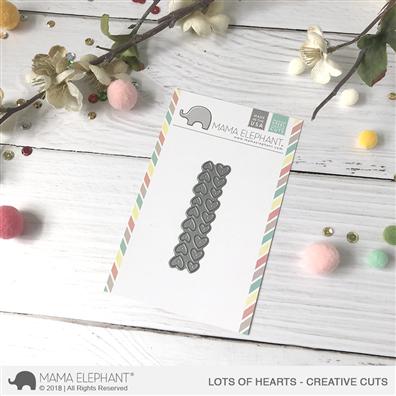 Mama Elephant Creative Cuts - Lots of Hearts