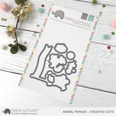 Mama Elephant Creative Cuts - Animal Parade