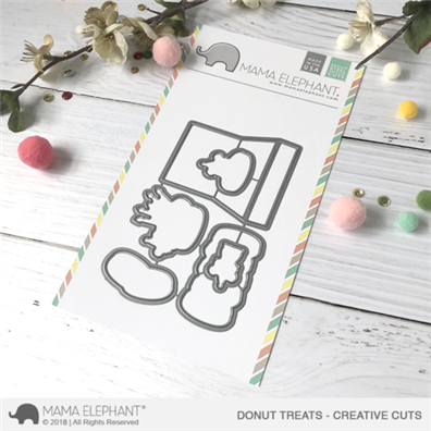 Mama Elephant Creative Cuts - Donut Treats