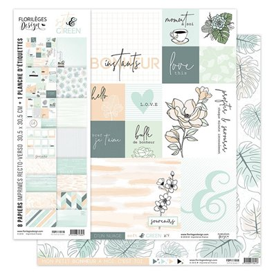 Florileges Design Soft & Green Kit Collection