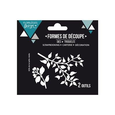 Florileges Design Dies - Deux Feuillages