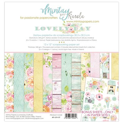 Mintay By Karola Lovely Day Paper Pack
