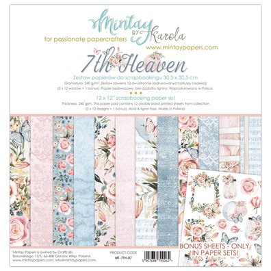 Mintay By Karola 7th Heaven Paper Pack