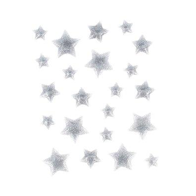 Artemio Enamel Dots - Sølv Stjerner