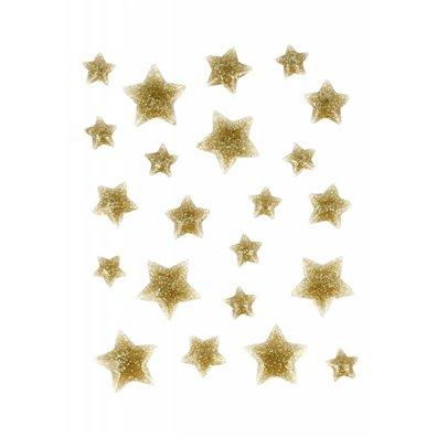 Artemio Enamel Dots - Guld Stjerner