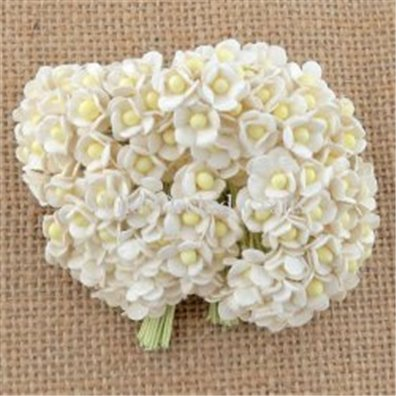 Miniature Sweetheart Blossom Flowers - White