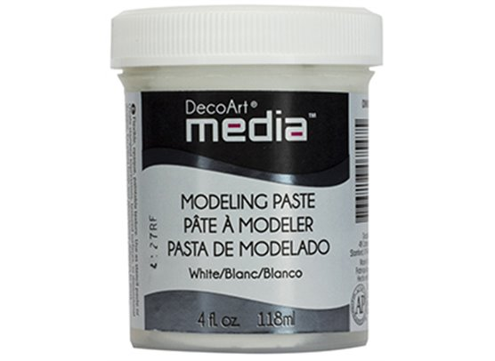 DecoArt Modelling Paste White
