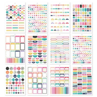Planner Basics - Carpe Diem Sticker Tablet