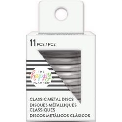 Create 365 rings - Happy Planner Metal Discs - Silver 1.25