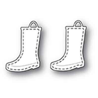 Memory Box Dies - Stitched Rain Boots