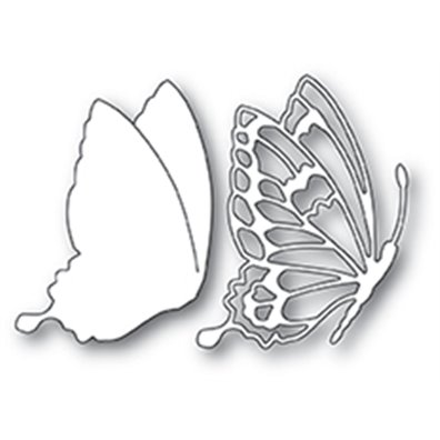Memory Box Dies - Drifting Side Butterfly