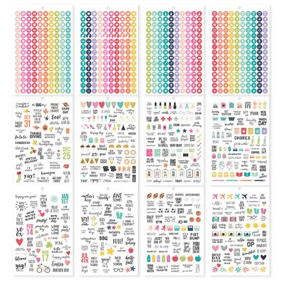 Calendar - Carpe Diem Sticker Tablet
