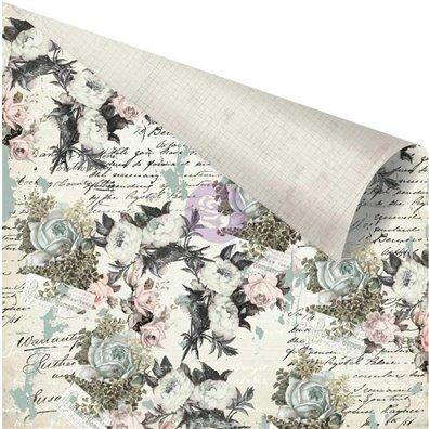 Vintage Floral - The Good News mønsterpapir fra Prima