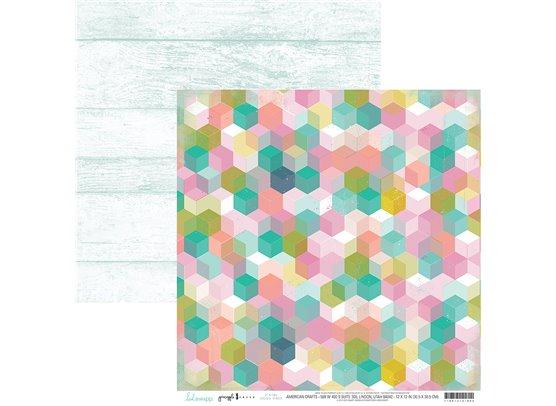 Pineapple Crush - Good Vibes - Mønsterpapir fra Heidi Swapp