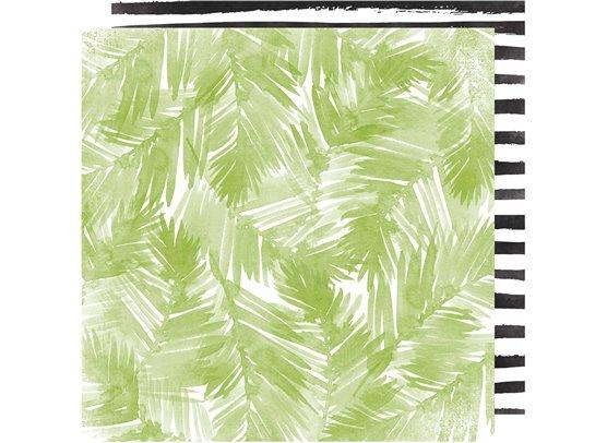 Pineapple Crush - Palm Beach - Mønsterpapir fra Heidi Swapp