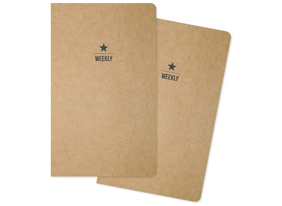 Carpe Diem Traveler's Notebook Insert - Weekly - 2 stk