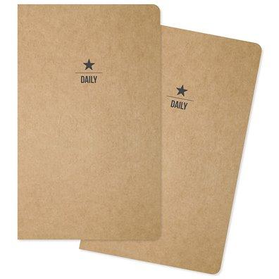 Carpe Diem Traveler's Notebook Insert - Daily - 2 stk