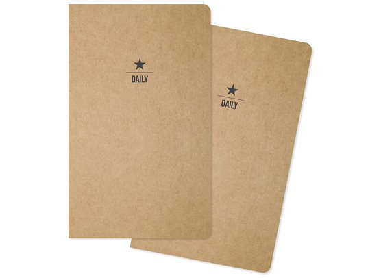 Carpe Diem Traveler's Notebook Insert - Daily - 2 stk