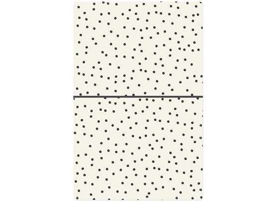 Carpe Diem Traveler's Notebook - Cream Dot