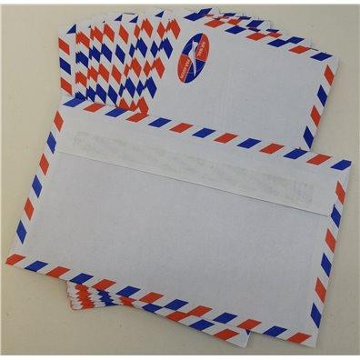 Air Mail Kuverter 20 stk. 15,2 x 9 cm