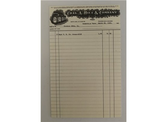 Jenni Bowlin Journaling kort - Black Receipt