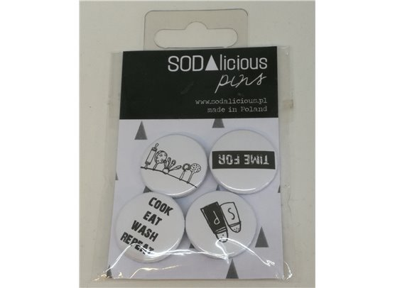 Sodalicious Pins - Cook Eat Wash Repeat